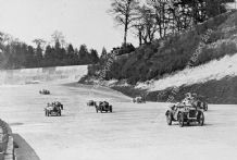 AUSTIN 7 TT Hon Victoria Worsley and others Brooklands Double-12 1931